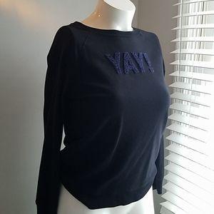 """Old Navy black """"YAY!"""" Sweatshirt SzS - GUC"""